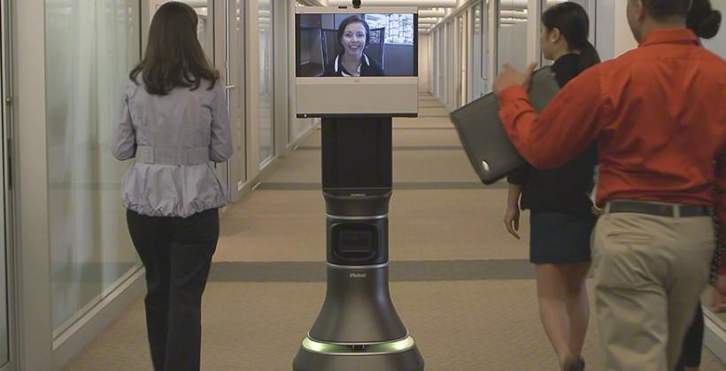 iRobot and Cisco Ava 500 dispatches robot reps around your workplace