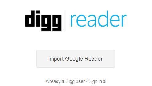 Digg Reader goes public, Android app still pending
