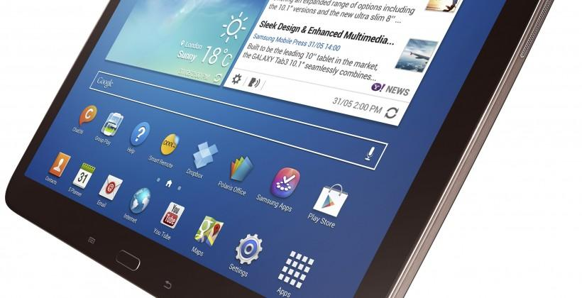 Samsung Galaxy Tab 3 series arriving next month in US