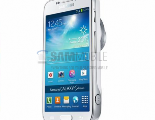 Samsung GALAXY S 4 Zoom appears in leaked images