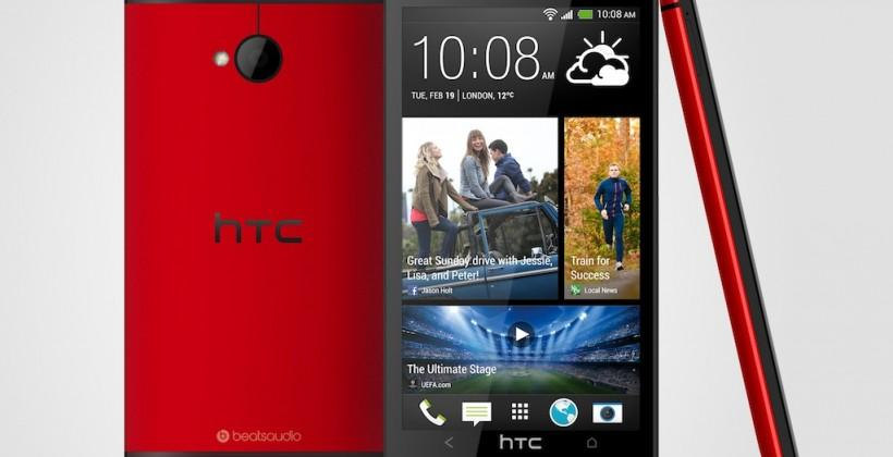 HTC One Glamour Red edition official: Hits UK next month