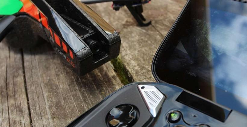 NVIDIA SHIELD Hands-on with Parrot AR.Drone 2.0