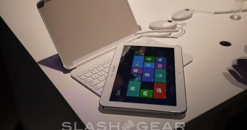 "Samsung ATIV Tab 3 hands-on: ""Galaxy"" form empowered for Windows 8"