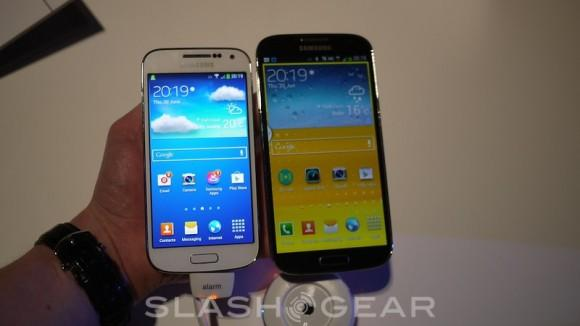 Samsung Galaxy S4 Mini hands-on - SlashGear