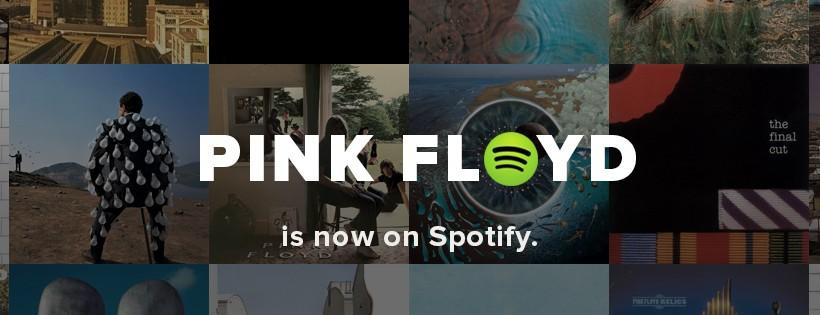 Spotify gains Pink Floyd archives in full