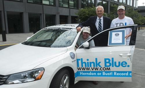 Volkswagen Passat TDI scores non-hybrid world record with trip average of 78MPG