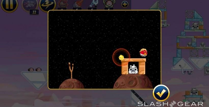 Angry Birds Star Wars Lando update totes thermal detonator