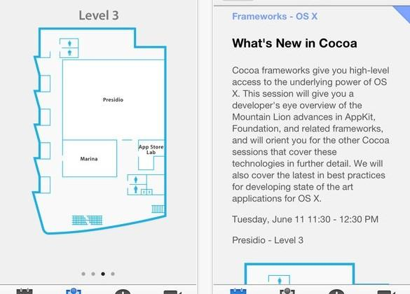 Apple outs WWDC app with session videos, maps and more