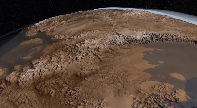 NASA shows us what Antarctica would look like without ice