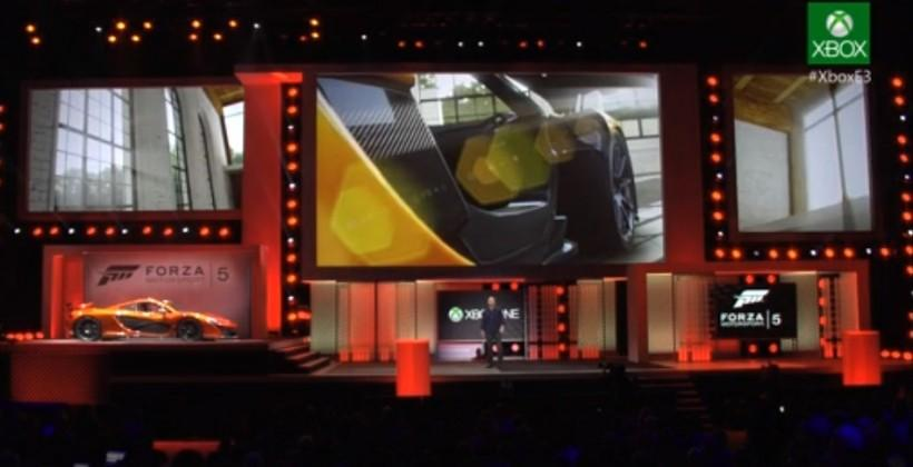 Forza Motorsports 5 further detailed at E3