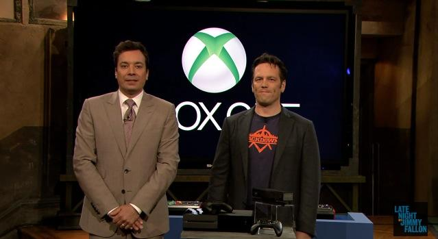 Xbox One gets first mainstream hands-on from Jimmy Fallon