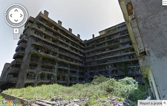 Google Street View visits Skyfall-inspired Hashima Island