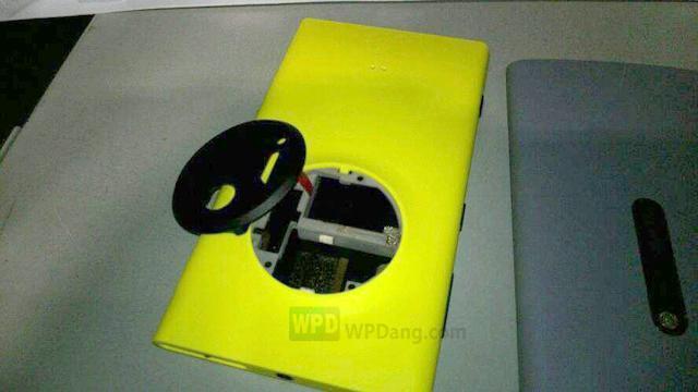 Nokia EOS 41MP Windows Phone hardware leaks [UPDATE: Lens up close]