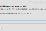 iOS 7 3rd party keyboards leaked early [UPDATE]