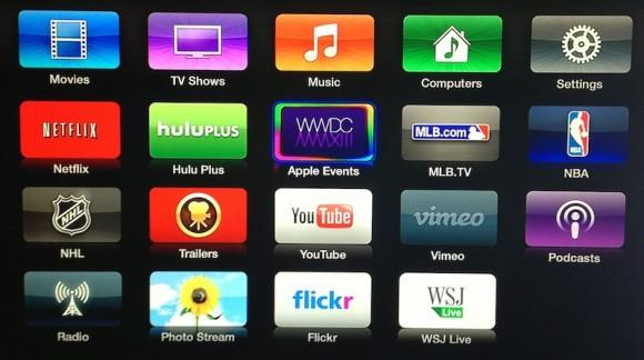 Apple TV iOS 5.4 beta includes iTunes Radio, Conference Room mode