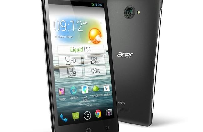"Acer Liquid S1 brings 5.7-inch self-proclaimed ""phablet"" to market"