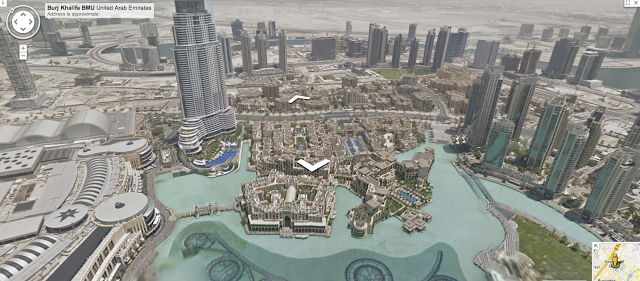 Google Street View hits Dubai with trip up 2,717ft Burj Khalifa