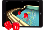 Scosche smartROLL Electronic Gaming Dice aim for iPad
