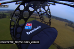 Domino's Drone aims for faceless pizza delivery