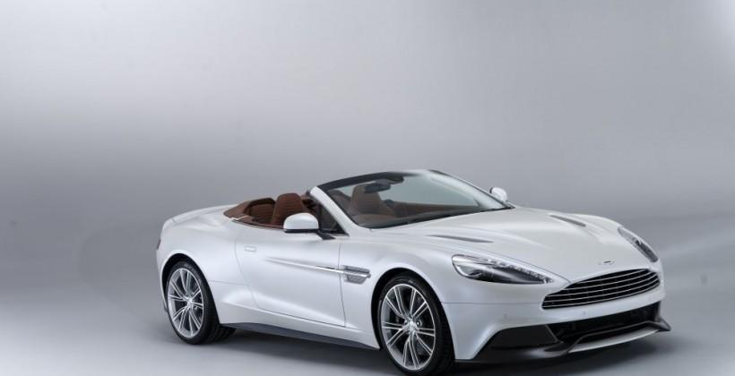 2014 Aston Martin Vanquish Volante pushes the drop-top envelope