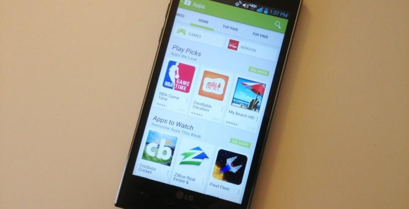 Google Play app downloads to surpass iOS by October