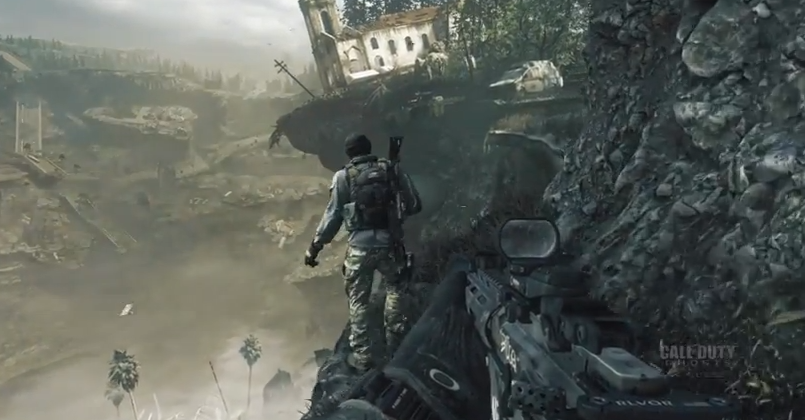 Call of Duty Ghosts gameplay goes underwater, dog combat hits PS4, Xbox One