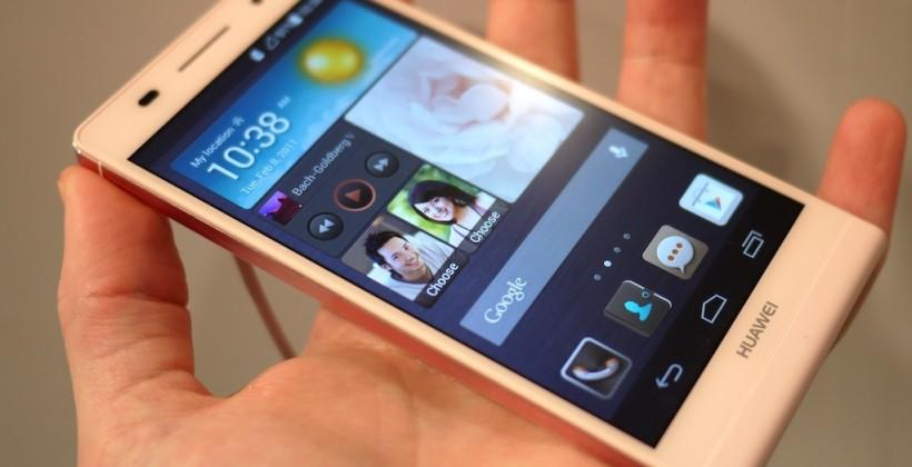 Huawei Ascend P6 hands-on (Just don't ask about Beauty Shot)