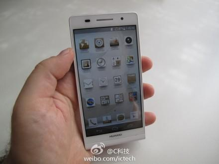 Huawei Ascend P6 leaks in full (and it sure does look like an iPhone)