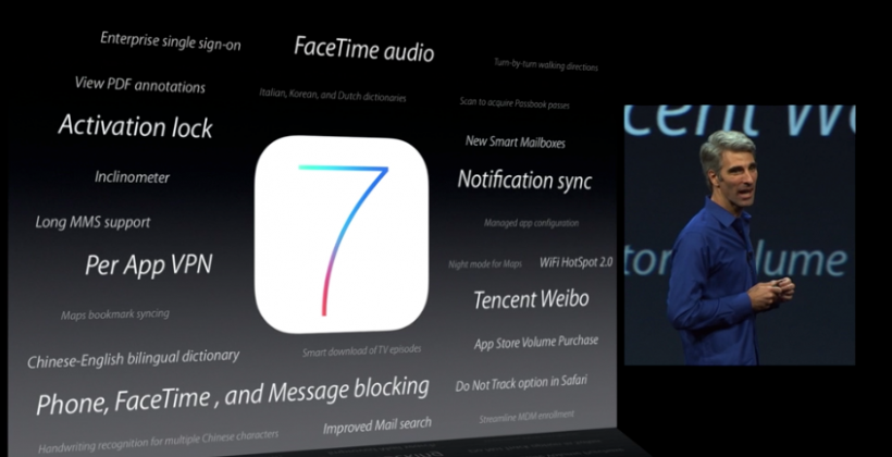 iOS 7 packs FaceTime Audio, walking Maps navigation, Night Mode & more