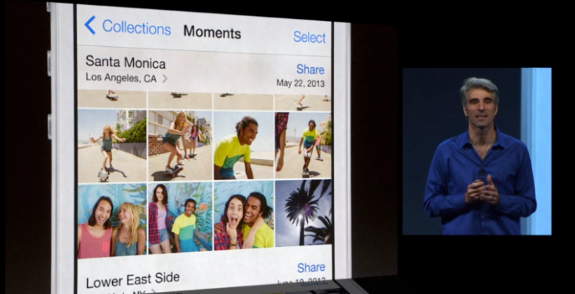 iOS 7 brings Moments, Filters, and Airdrop sharing to Photos