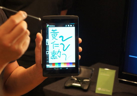 NVIDIA Tegra 4 makes pressure-sensitive stylus technology core-deep