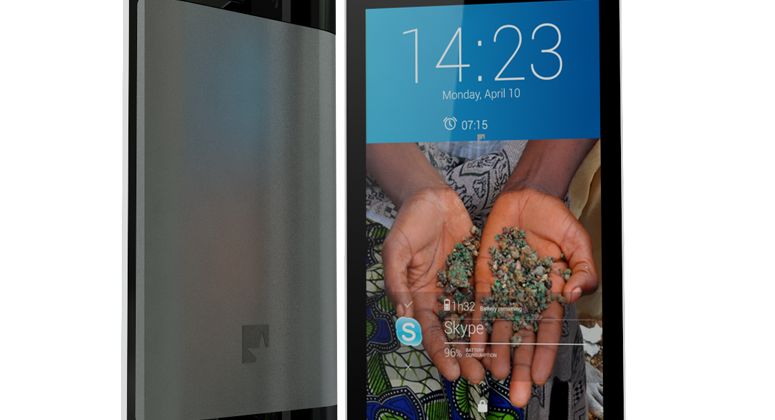 """FairPhone hits production goal: aims to """"put social values first"""""""