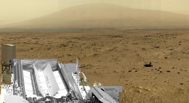 NASA Curiosity takes massive 1.3 billion pixel Mars panorama