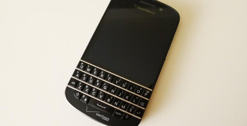 Verizon BlackBerry Q10 Review