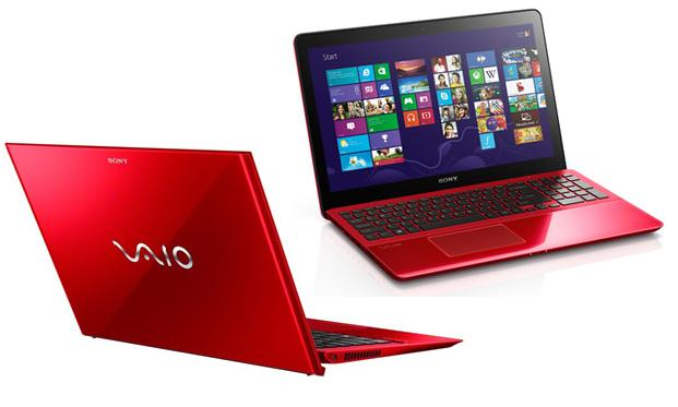 Sony VAIO red edition laptops get hand-finished casings for show-offs