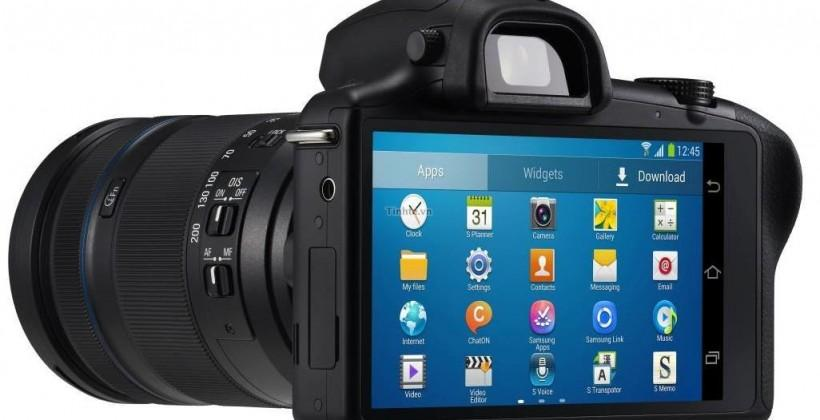 Samsung Galaxy NX press photos leak: interchangeable lens Android