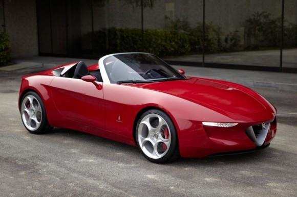 "2015 Alfa Romeo Spider goes modern, eschews ""boat-tail"" 2uettottanta"