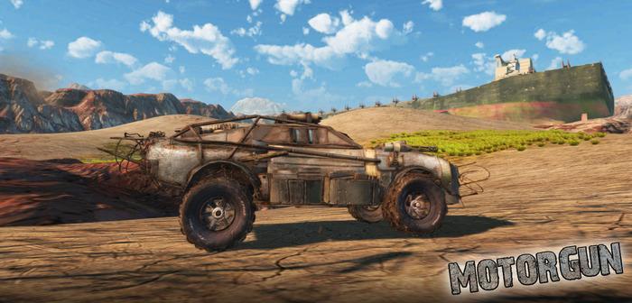 MotorGun game brings Twisted Metal creator back to vehicular warfare