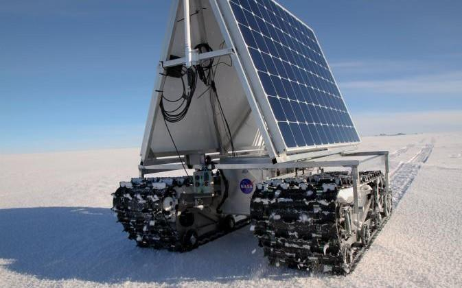 NASA GROVER rover completes first tests in remote arctic expedition