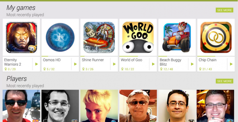 Google Play Games app now available