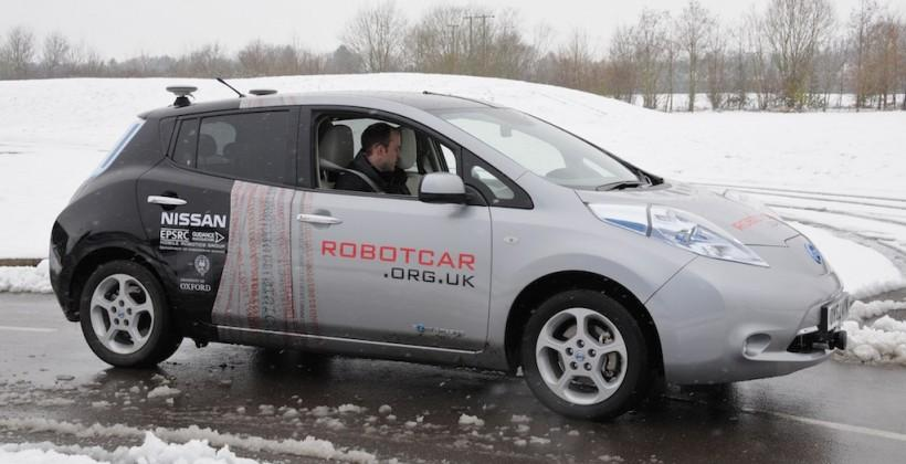 Self-driving cars get UK green-light for public roads in 2013