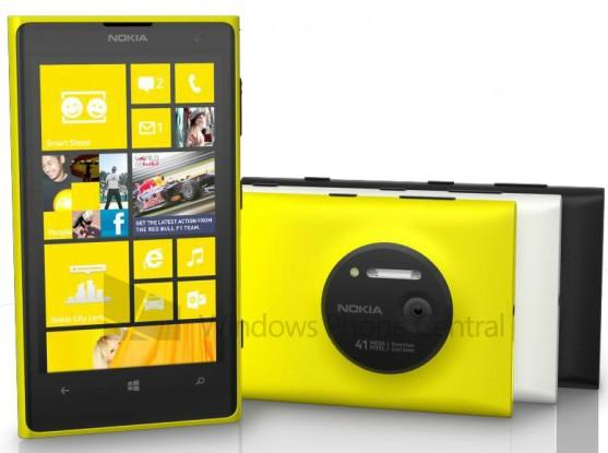 Nokia Lumia 1020 detailed in clearest renders yet