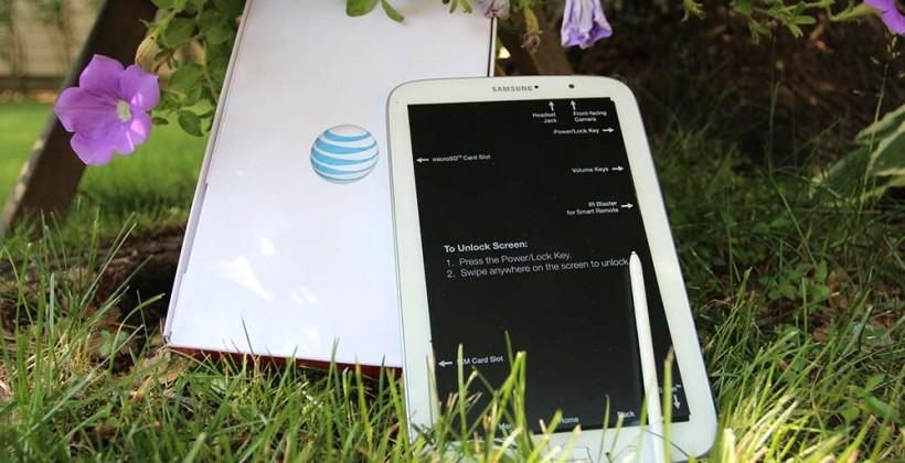 AT&T Samsung Galaxy Note 8.0 Hands-on