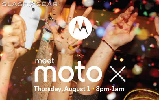 Moto X unveiling event to be followed up with star-studded after-party