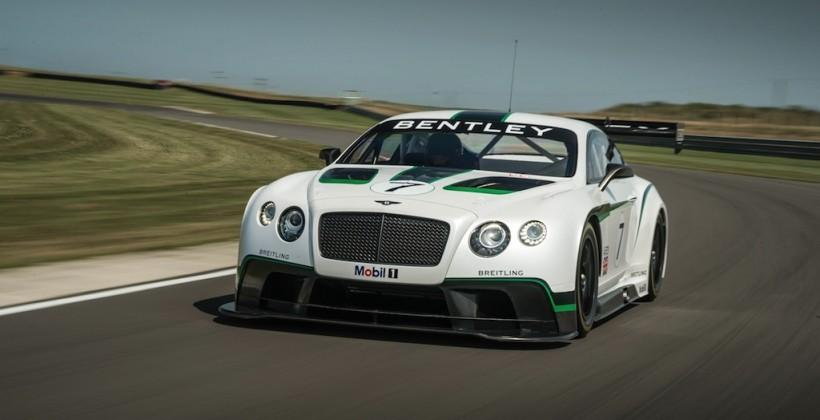 Bentley Continental GT3 makes 600HP racer out of luxury barge