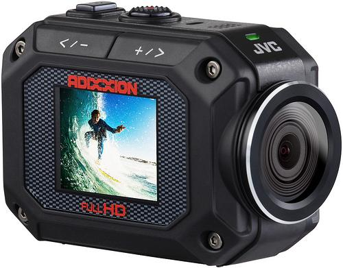 JVC GC-XA2 ADIXXION action camera takes on GoPro