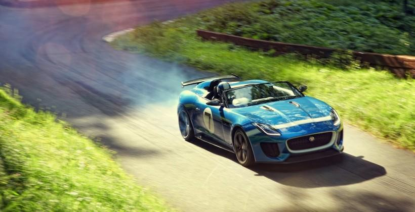 Jaguar Project 7 crafts one-off single-seater racer from F-Type