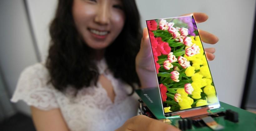 LG Display reveals slimmest ever full HD smartphone LCD panel