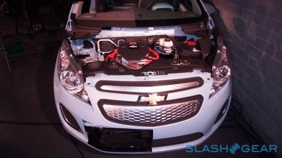 Spark EV 2014 Test drive