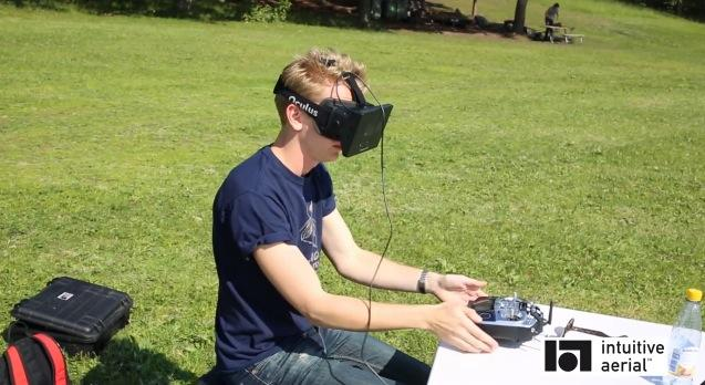 Oculus Rift hack puts user inside Black Armor Drone with first-person view